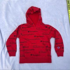 Boys Champion Hooded Sweatshirt